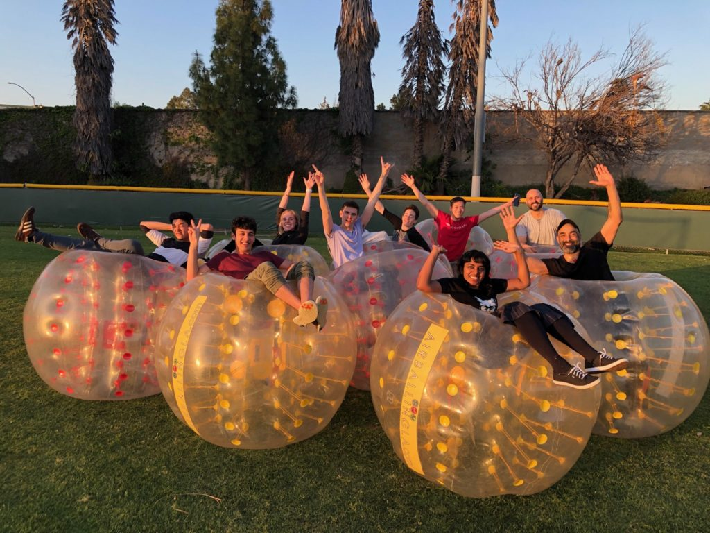 Bubble Soccer in Fountain Valley