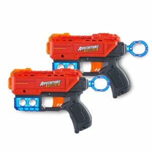The Dual Pistol is a popular choice for many in our Nerf Birthday Party in Orange county.