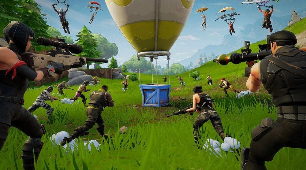 Outrageously fun Fortnite Birthday Party hosted by AirballingOC
