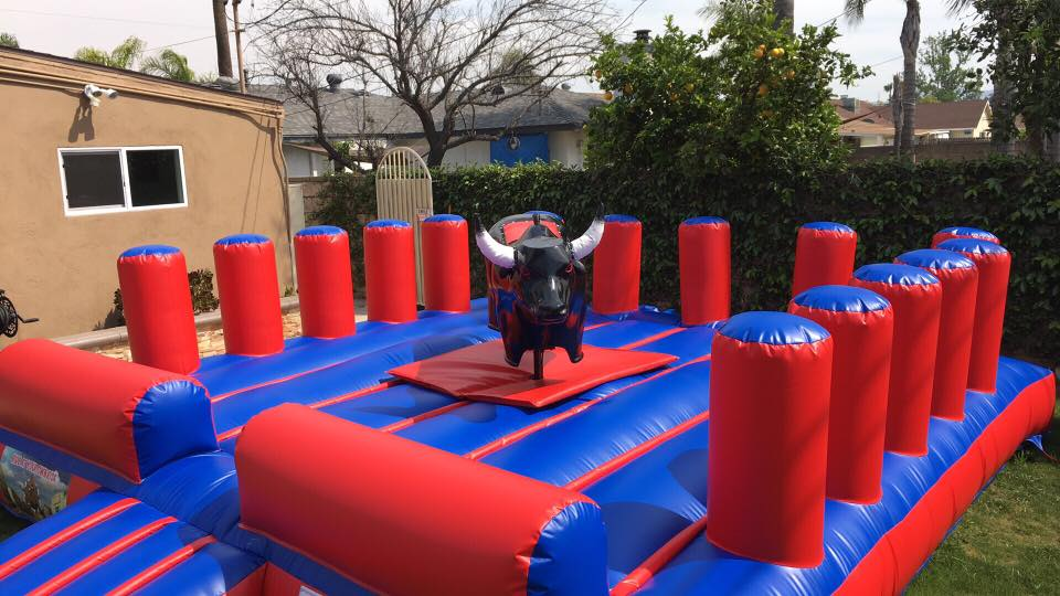AirballingOC provides the finest bull rentals throughout Orange County. We provide a series of different mechanical bulls to make your rental experience fun and personalized!