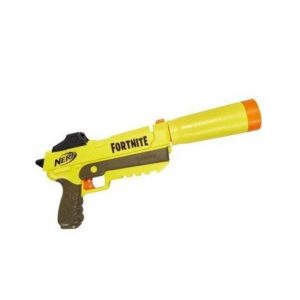 Everyone in our Nerf Birthday Party loves the Fortnite based Nerf Gun. It holds up to 8 ammo for a fun time.