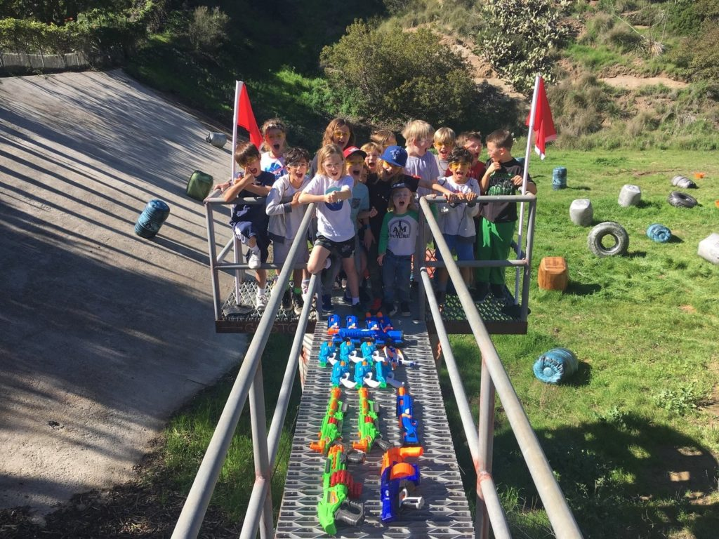 We host the finest Nerf Gun Party in Yorba Linda. Ample land is necessary to host our 7 different games!