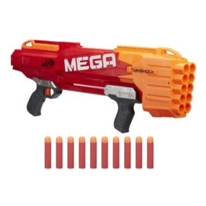 Nerf Meega TwinShock used in our Nerf War Party in Orange County