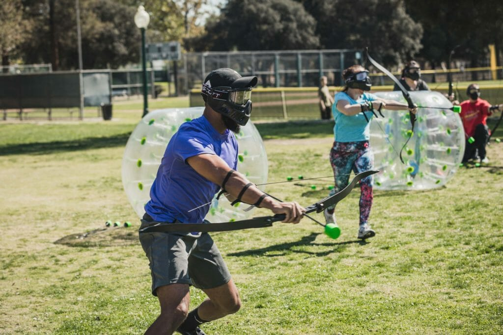 Hosted an archery tag event in Orange County. We use the same bows as Arrow Tag OC and similar games. You'll get the same if not better arrow tag experience with us